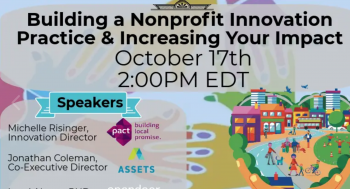 Building a NonProfit Innovation Practice and Increasing Your Impact