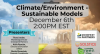 Climate/Environment - Sustainable Models